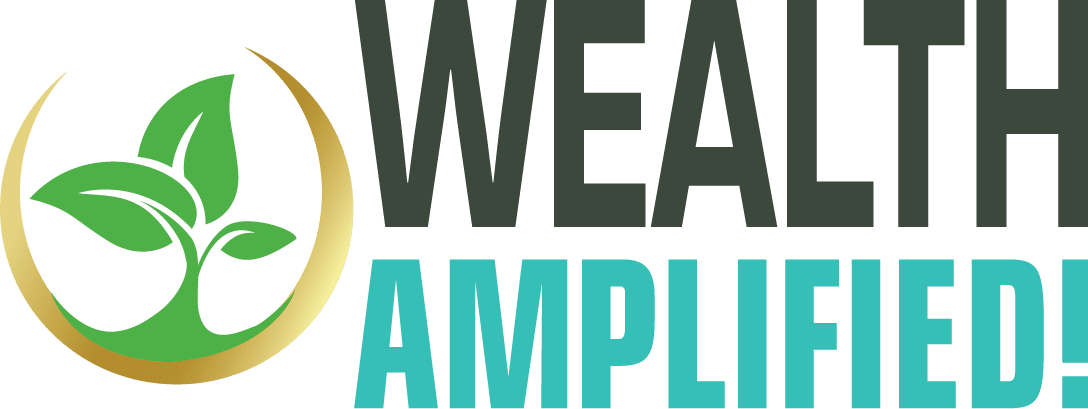 Wealth Amplifed logo, Pam Hopman, Author